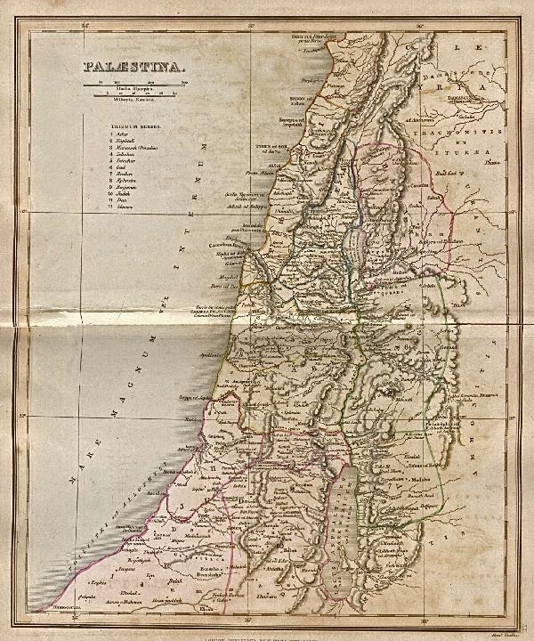 Palestine 1849