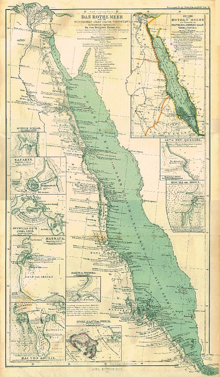 Mer rouge 1860